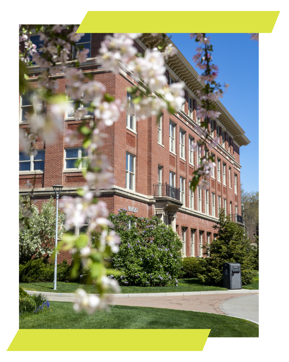 Wright Hall in the Spring